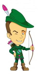 Rudy_Klaassen_als_Robin_Hood