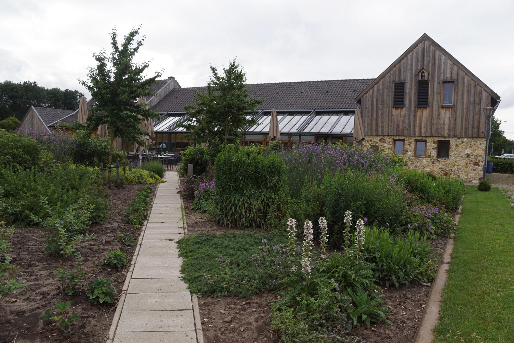 een eetbare tuin kan ook mooi zijn