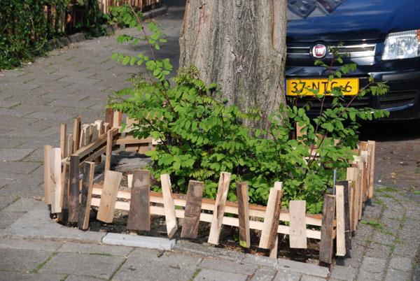 liefde en respect voor de boomtuin
