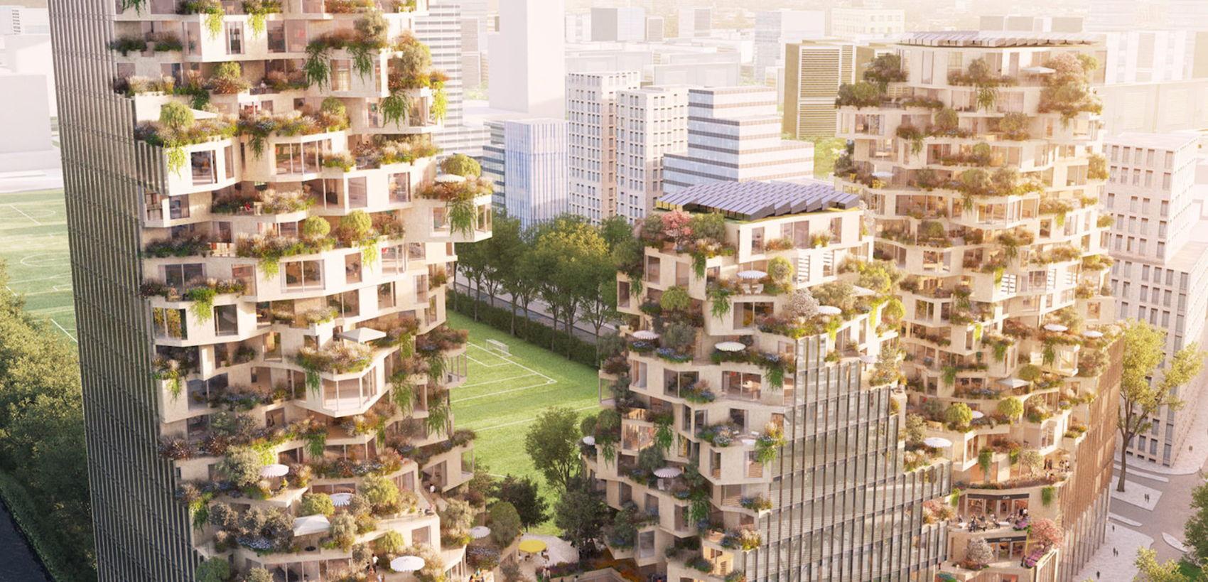 Bouw steden als bossen