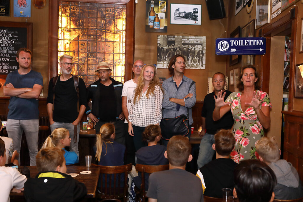 Cafe Hesp aan de Amstel Rudy Klaassen