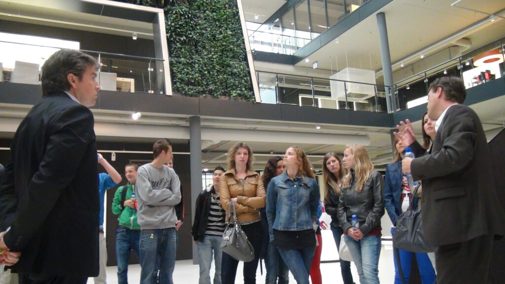 groene werkplek in Hoofddorp Experience Center